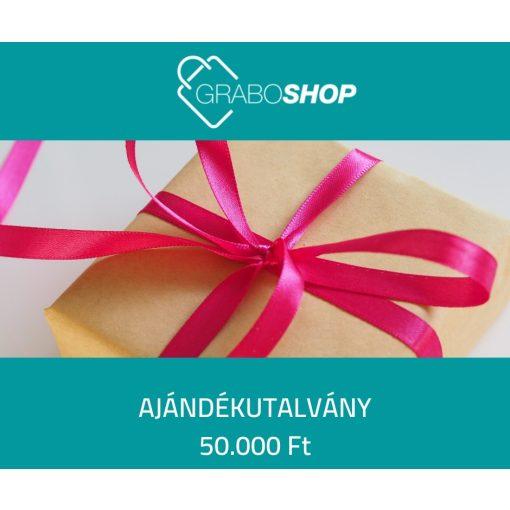 GraboShop ajándékutalvány - 50.000 Ft