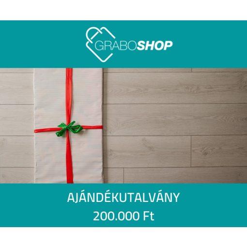 GraboShop ajándékutalvány - 200.000 Ft