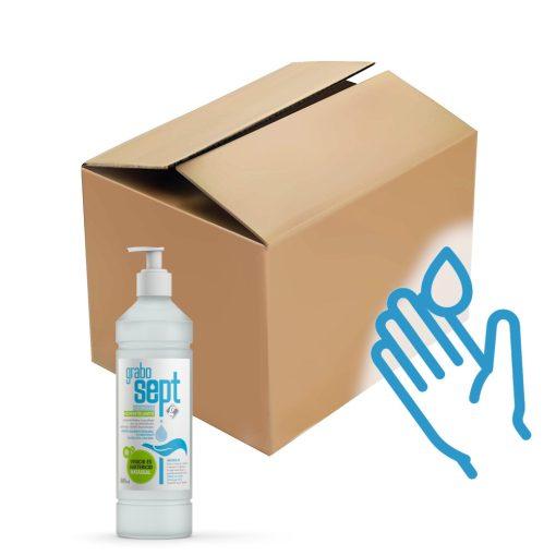 GraboSept pumpás kézfertőtlenítő Gondoskodás Plusz csomag - 18x500 ml