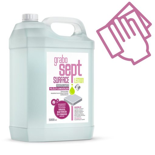 GraboSept Surface* utántöltő felületfertőtlenítő - 1x5 liter
