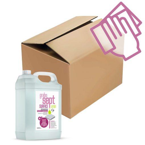 GraboSept Surface* utántöltő felületfertőtlenítő gyűjtő csomag - 3x5 liter