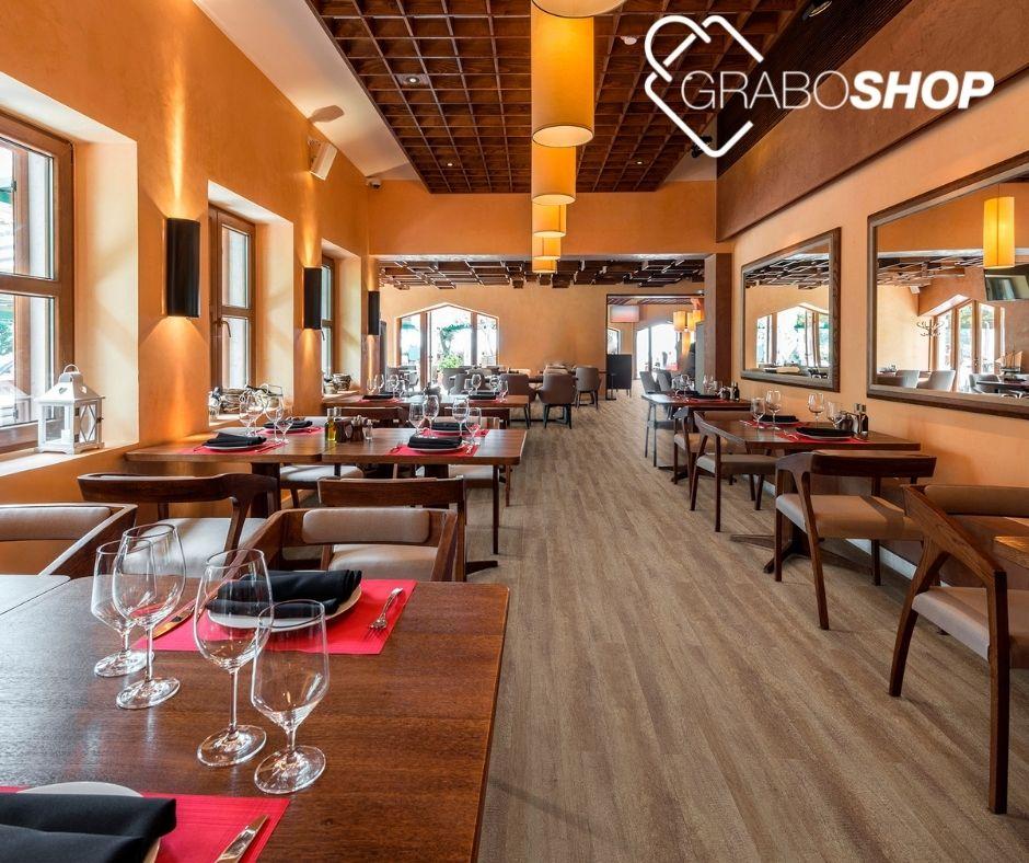 Új padló az étterembe vagy szállodába a GraboShop-tól